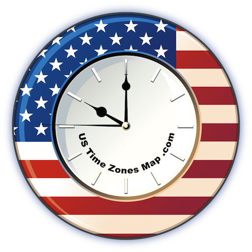 US Time Zones Map, Current local time in USA